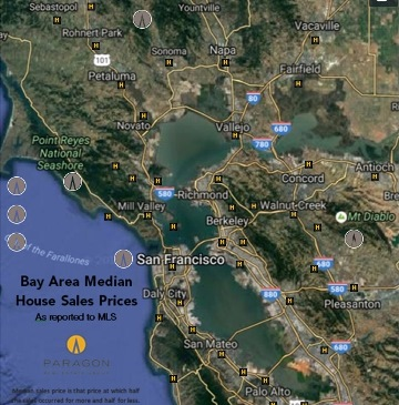 Marin County Bay Area Real Estate Markets